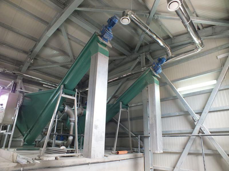 Separator de nisip cu spalator integrat SP-PP15