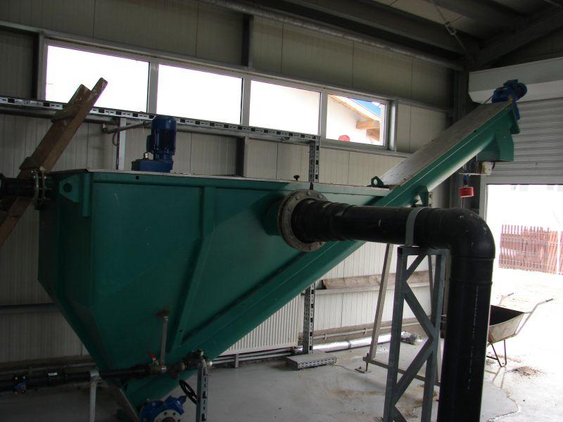 Separator de nisip cu spalator integrat SP-PP10
