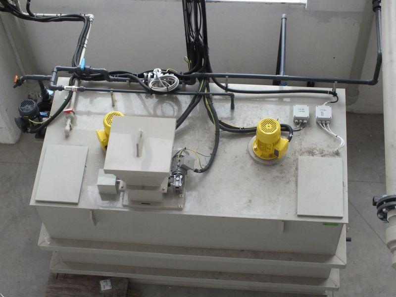 Instalatie preparare floculant AS-PROCHEM 1.6