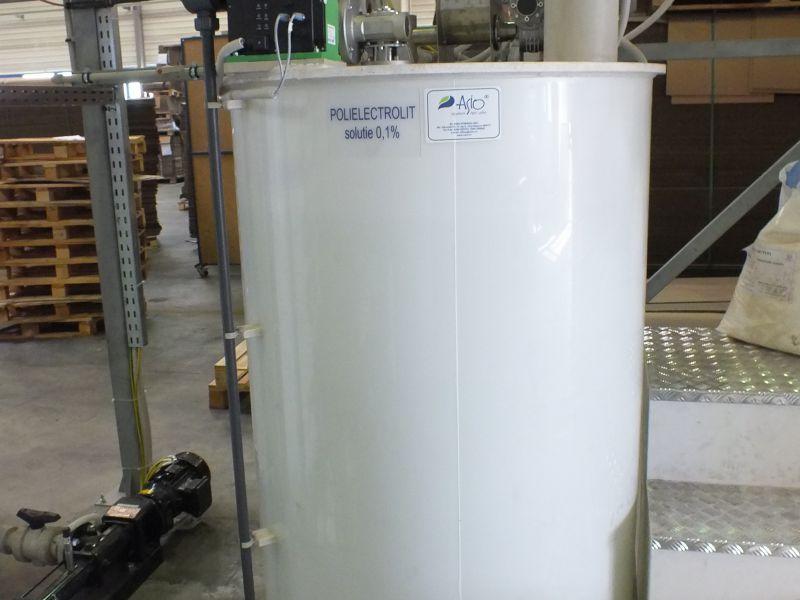 Instalatie preparare floculant AS-PROCHEM 1 C