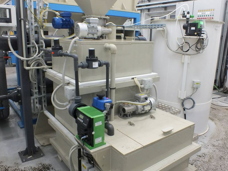 Instalatie preparare floculant AS-PROCHEM 0.7 D