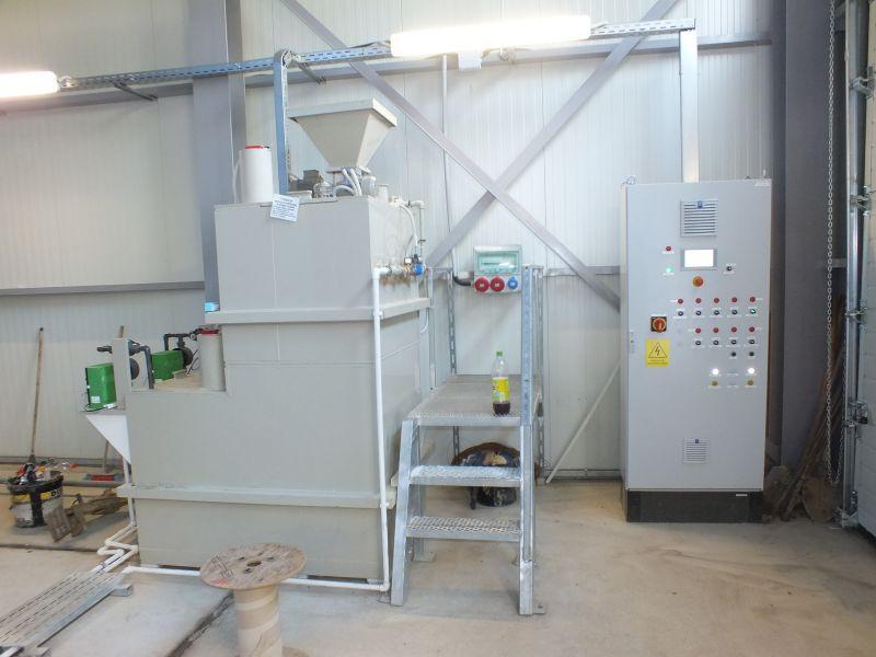 Instalatie preparare floculant AS-PROCHEM 1.5K