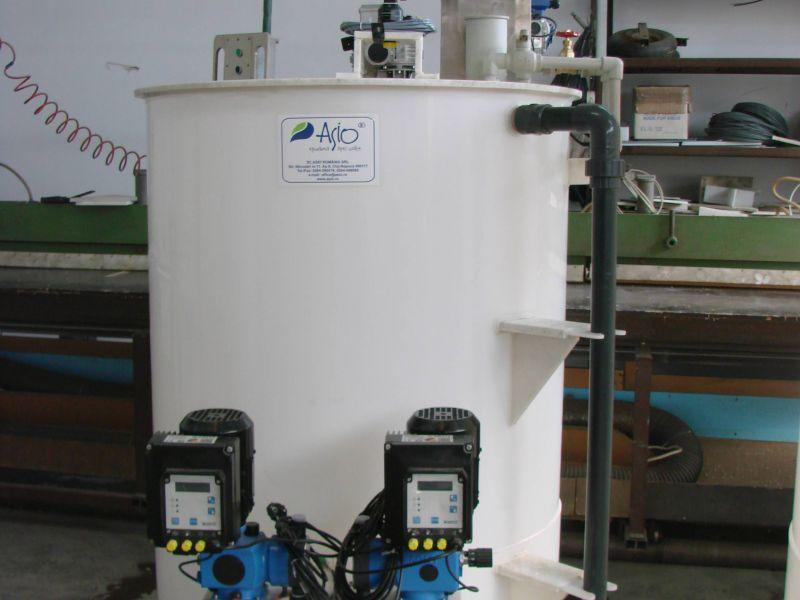 Instalatie preparare si dozare solutie permanganat AS-PROCHEM 1C