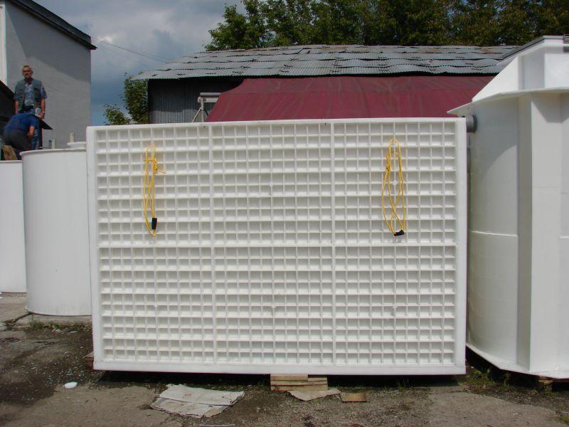 Bazin stocare din PP, rectangular