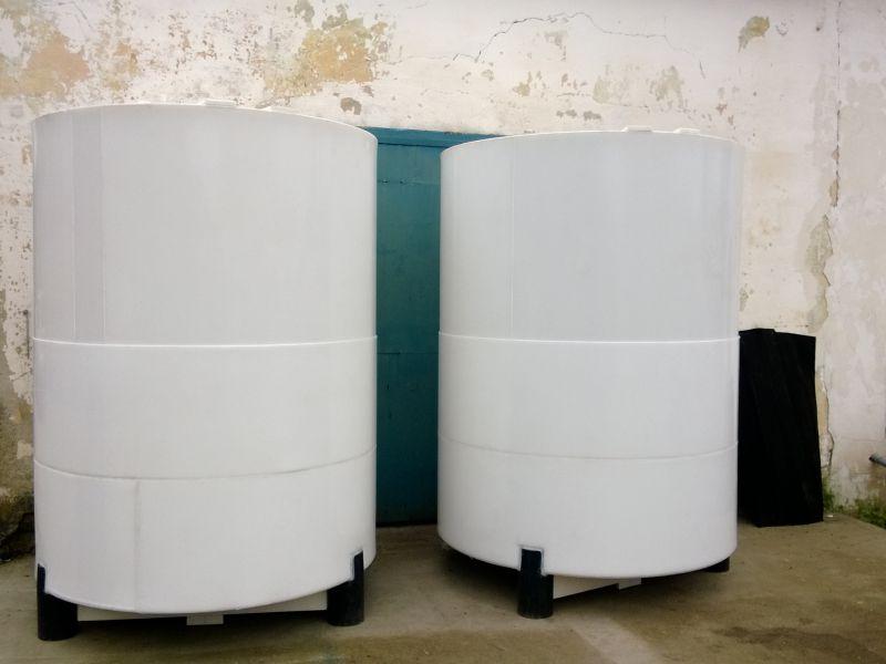 Bazine stocare din polipropilena, supraterane