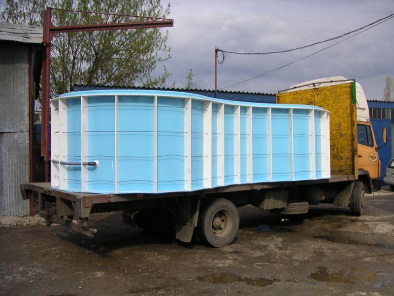 Transportul piscinei