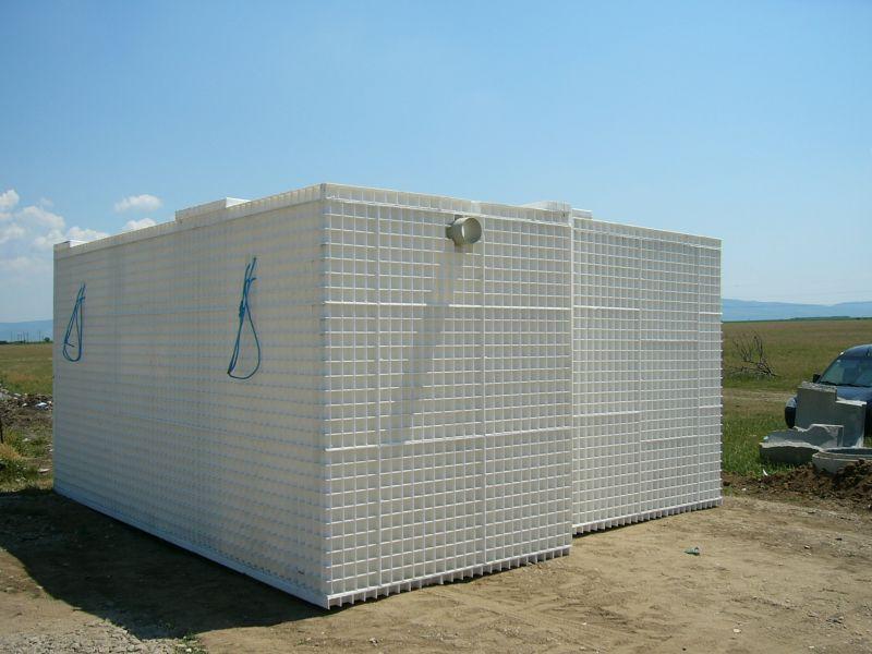 Statie epurare AS-VARIOcomp 200 N/PUMP dupa livrare