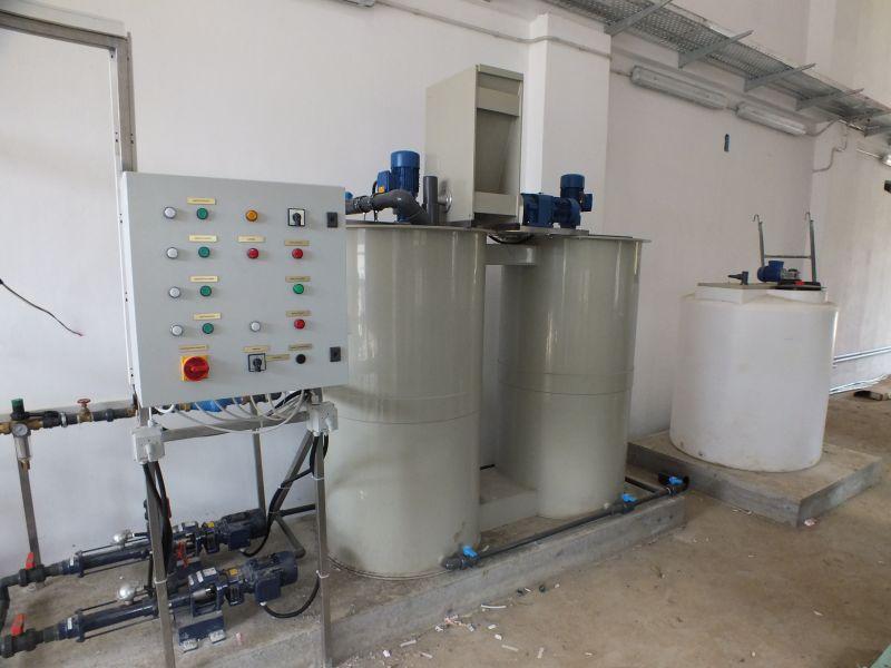 Instalatie preparare floculant