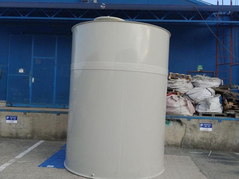 Rezervor suprateran 12 m3 cu pereti dubli