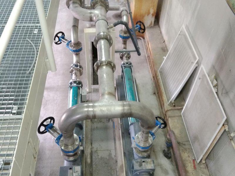 Pompe alimentare filtru presa