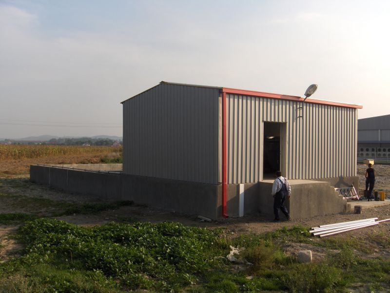 Statie epurare la fabrica de mezeluri, 75 m3/zi