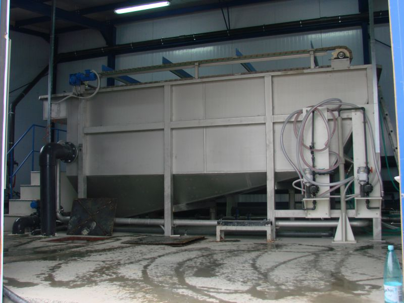 Instalatie flotatie 50 m3/h