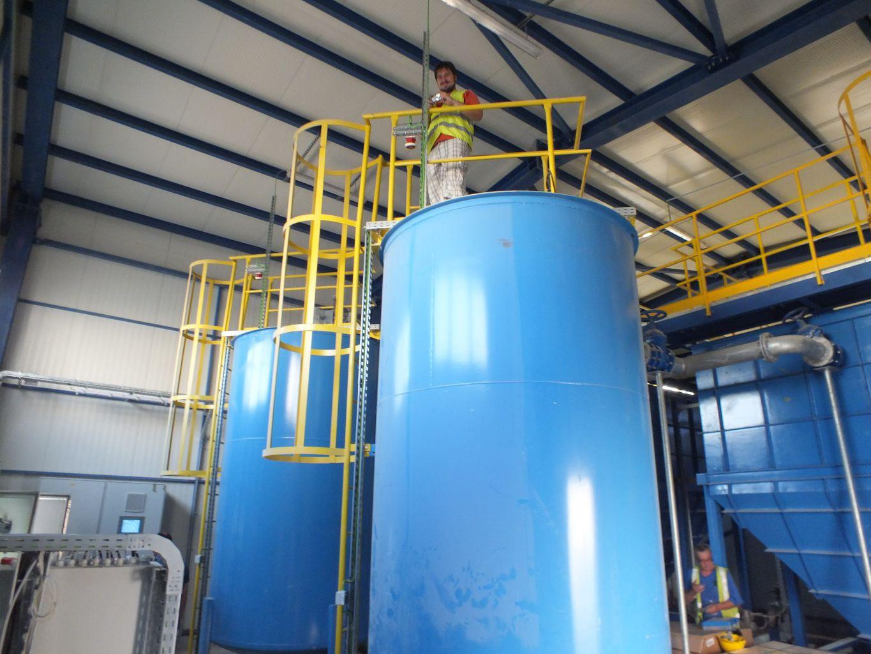 Statie tratare ape uzate provenite de la spalarea filtrelor de nisip, Calarasi, 100 m3/h
