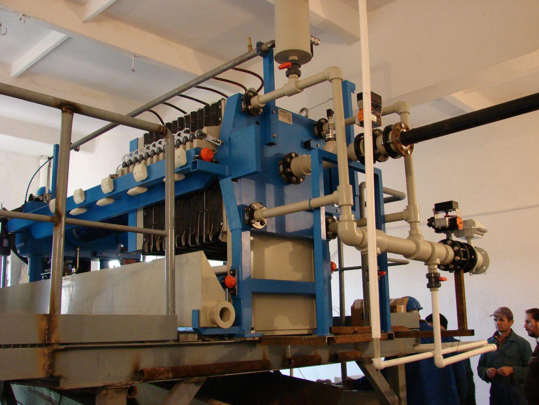 Filtru presa KM800/15, cu paci cu membrane