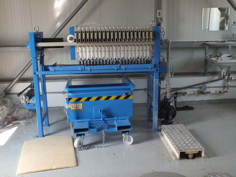 Filtru presa K400/20 manual