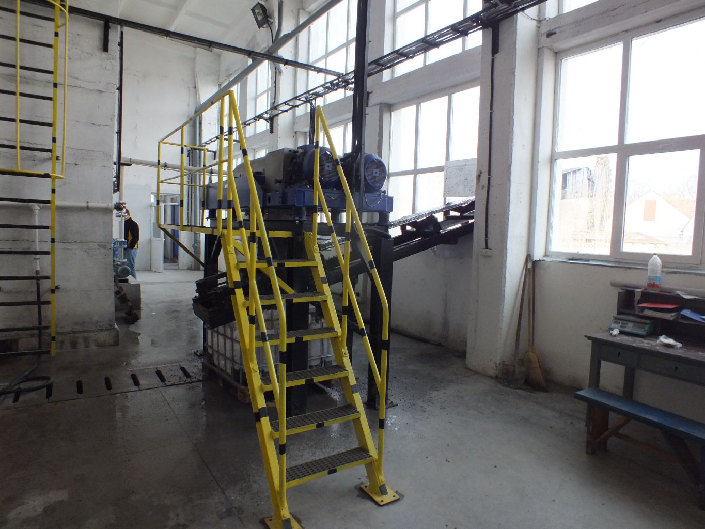 Instalatie deshidratare namol, 6 m3/h