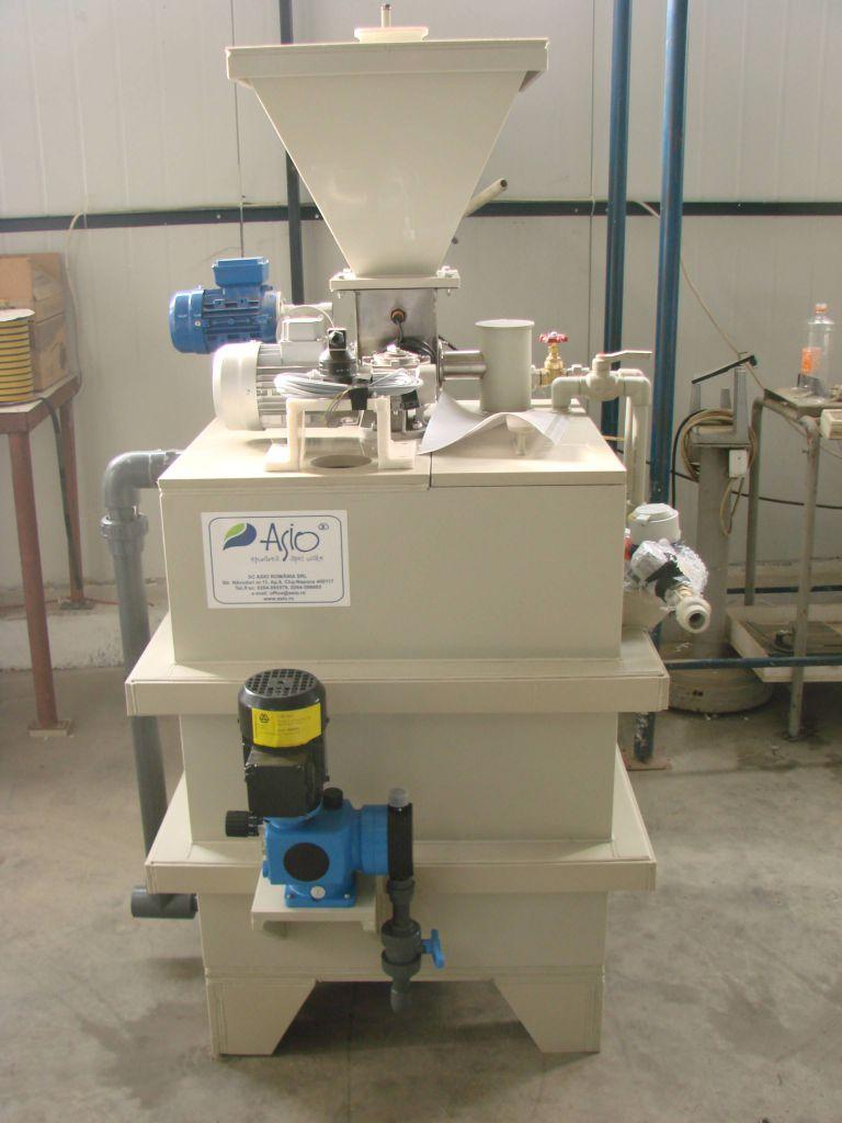 Instalatie preparare floculant AS-PROCHEM 0.25 K