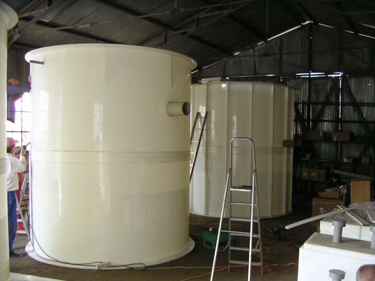 Bazine cilindrice in timpul productiei