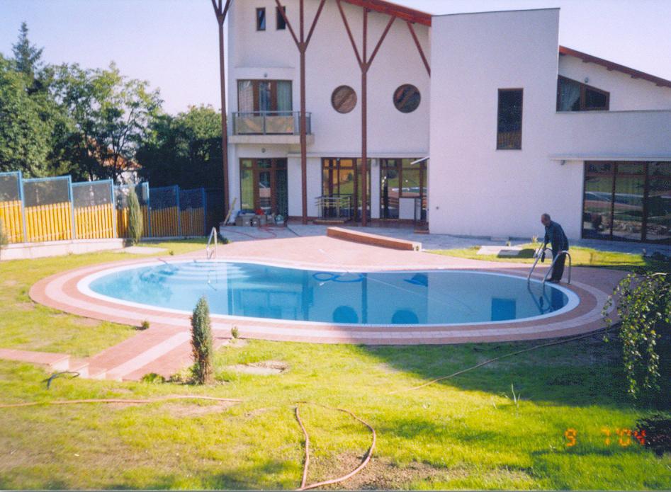 Piscina casa privata Cluj