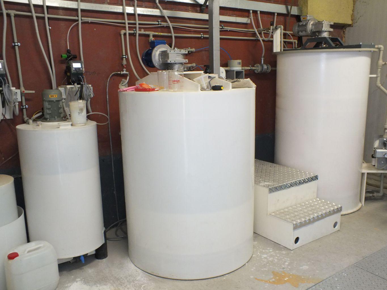 Bazine stocare si reactor statie epurare