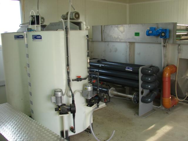 Bazine de preparare si instalatie flotatie